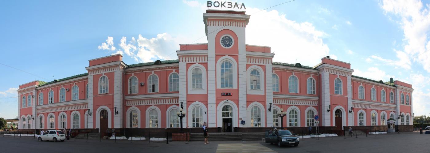 Железнодорожный вокзал г. Тамбова