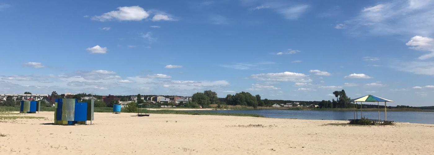 Пляж п. Маслова Пристань