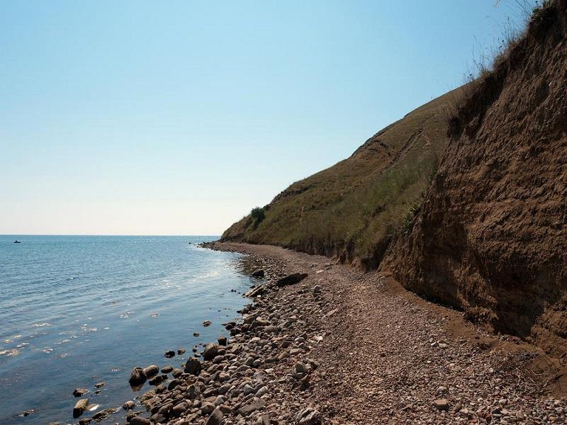 подборка диких пляжей возле Феодосии