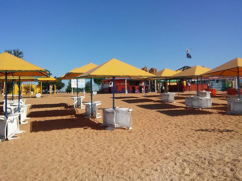 лучшие пляжи города Феодосия с песком