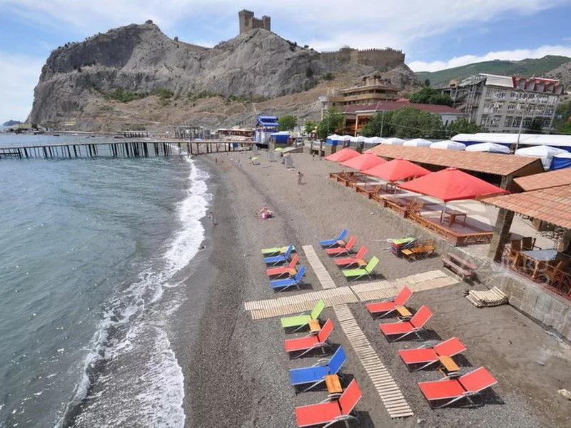Судак Крым пляжи